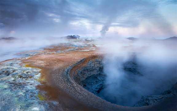 好看的冰岛自然风光图片