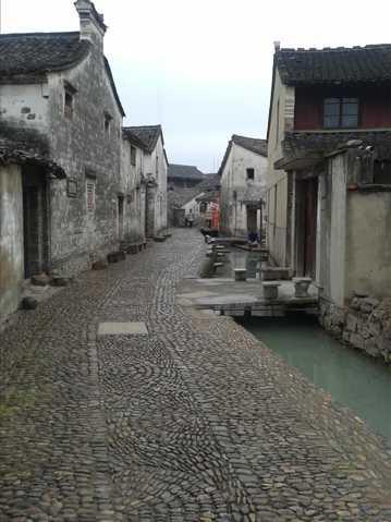 古色古香的前童镇图片