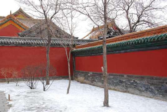 辽宁沈阳故宫自然风光图片