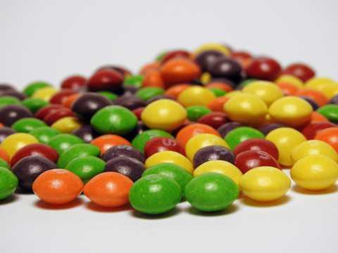 美食彩色糖果图片