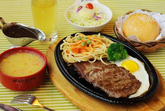 美食牛排高清图片
