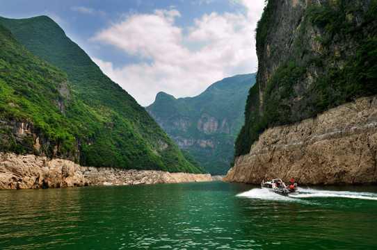 重庆长江三峡景致图片