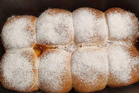 椒盐烤面包图片