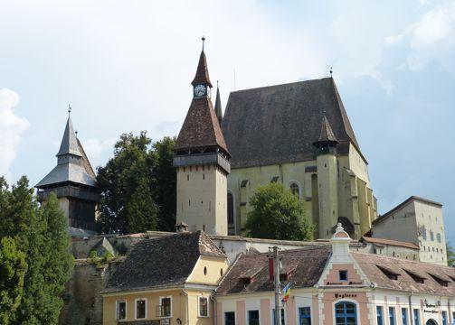 罗马尼亚特兰瓦西亚建筑景致图片