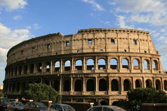 意大利古罗马竞技场图片