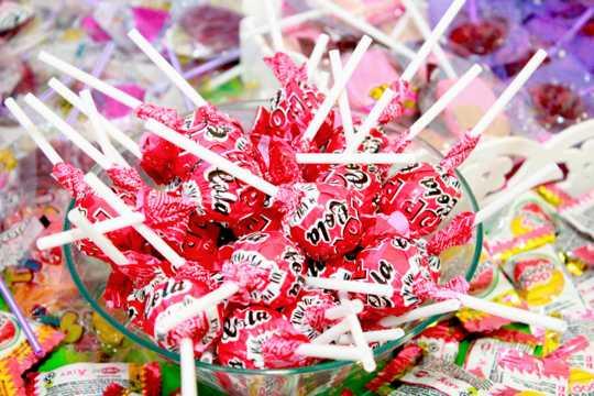 甜甜的棒棒糖图片