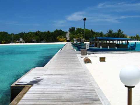 夏日马尔代夫图片