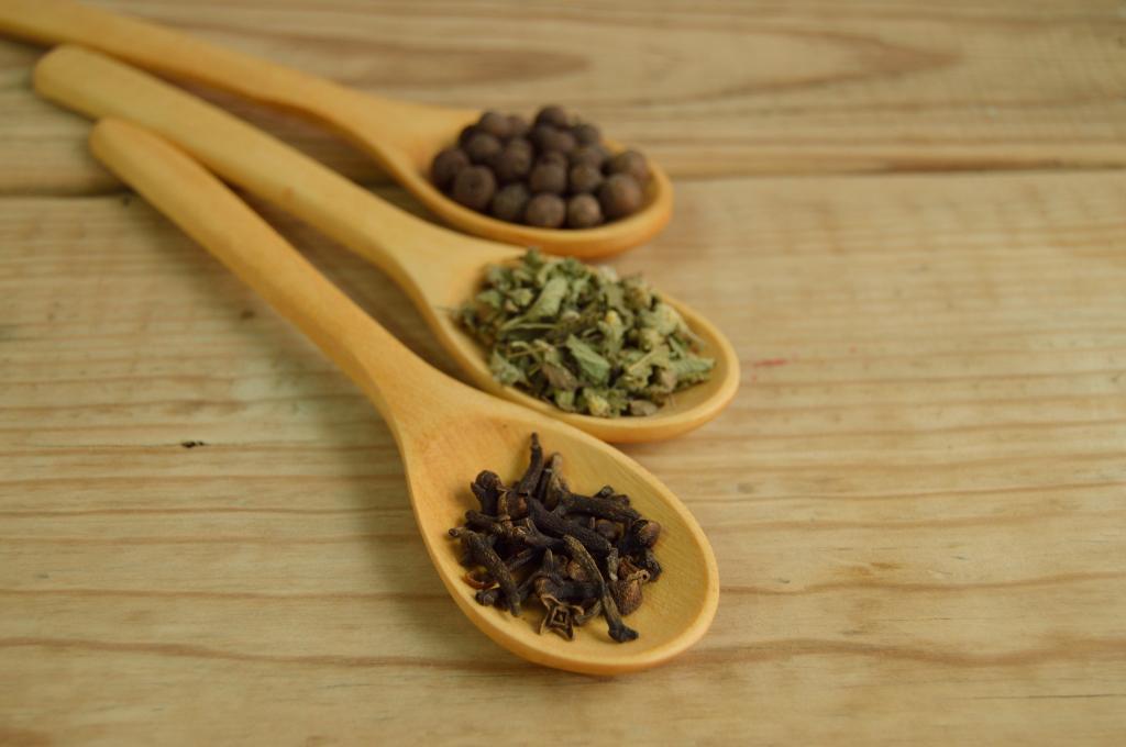 香料, 勺子, 木材, 方法, 详细, 表, 辣椒