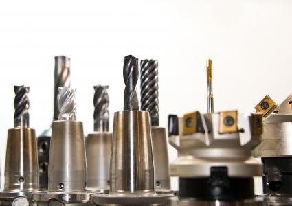 钻, 铣削, 铣床, 钻井, 工具, 金属, 金属加工