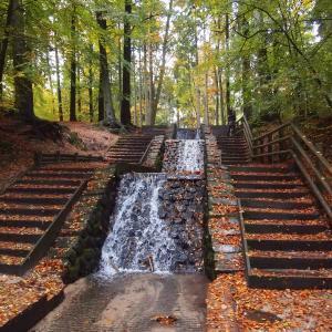 瀑布, 水, 天然水, 景观, 流量