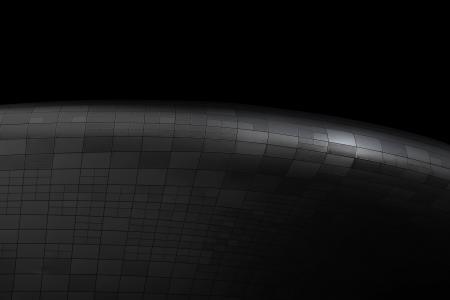 黑色, 曲线, 线条, 黑暗, 建筑, 设计, 艺术
