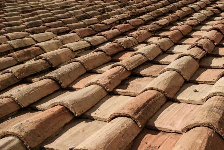 屋面, 瓷砖, 兵马俑, 屋顶, 屋面瓦, 建筑, 房子