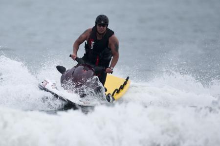 滑水, 水, 速度, 体育, 快速, 骑, 海