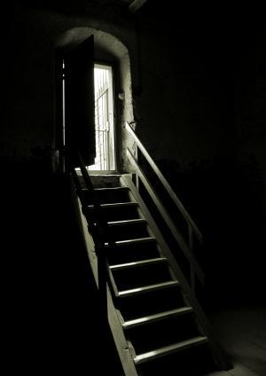 地牢, 左, 黑暗, 恐惧, 老, 城堡, 上升
