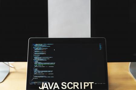 Javascript代码在笔记本电脑屏幕上