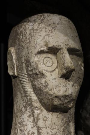 雕像, 巨人, 撒丁岛, montiprama, 拳击手, sinis, 奥里斯塔诺
