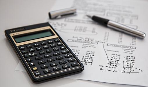 计算器, 计算, 保险, 财务, 会计, 钢笔, 投资