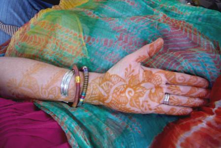 指甲, 装饰, 文化, 设计, 印度, 花香, 模式
