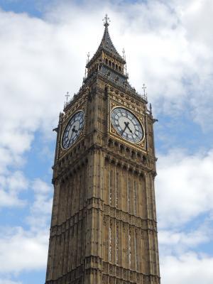 大笨钟, 伦敦, 手表, 天空, 建筑, 高度, 建设