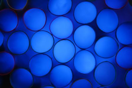 背景, 照片, 蓝色, 吸管