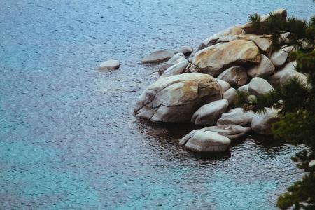 身体, 水, 白天, 海, 岩石, 没有人, 白天
