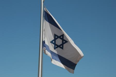 国旗, 以色列, 大卫之星, 提升机, 爱国者, 骄傲, 爱国主义