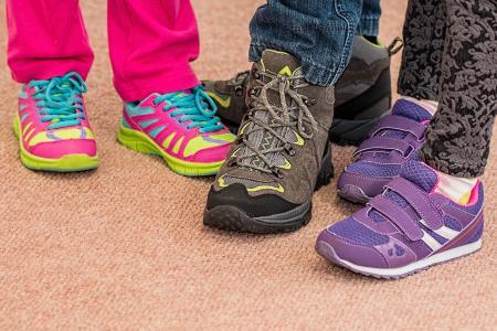 孩子们的鞋子, 鞋类, 培训师, 行走, 鞋子, 运动鞋, 徒步旅行