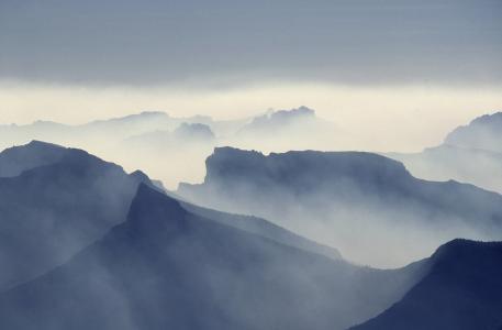 吸烟, 火灾, absarokas 山, 黄石国家公园, 蒙大拿州, 美国, 大火
