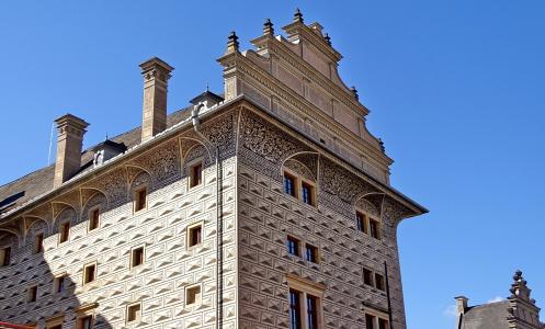 捷克共和国, 布拉格, 摩尔多瓦, 建筑, 布拉格城堡, 哈文, 从历史上看