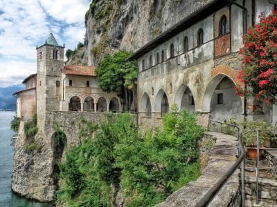 圣卡特琳 del 格兰萨索, 意大利, 修道院, 建筑, 建筑, 历史, 具有里程碑意义