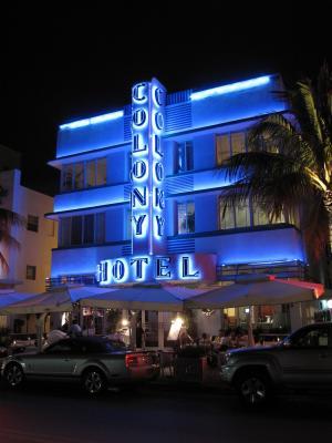 海洋驱动, 迈阿密海滩, 佛罗里达州, 酒店殖民地