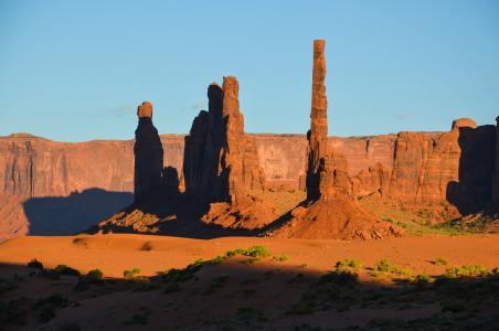 美国, 南西部, 狂野的西部, 景观, 犹他州, 科罗拉多高原, 纳瓦霍语