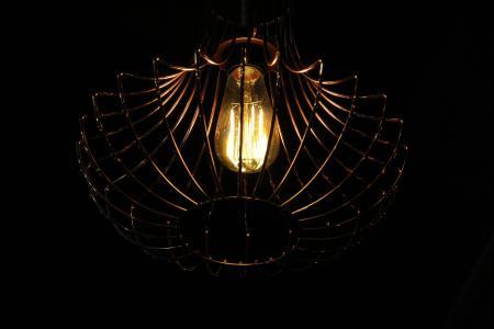 光, 工匠, 赶时髦的人, 领导, 黄铜, 灯, 传统