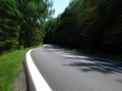道路, 速度, 二级公路, 乡间小路, 伍兹, 移动, 公路
