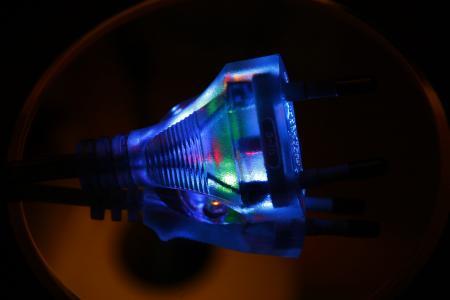 插头, 当前, 透明, 能源, 电力, 线, 电缆
