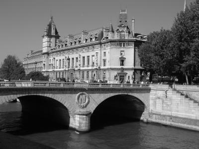 巴黎, 法国, 桥梁, 塞纳河, 城市景观