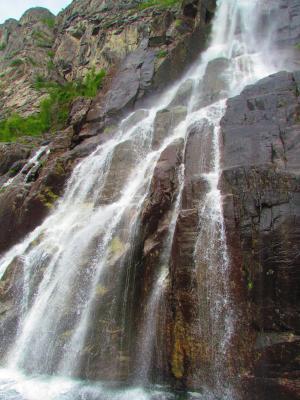 瀑布, 岩石, 山, 水, 自然, 流动, 石头