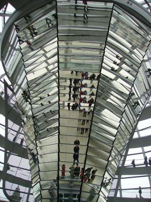 几点思考, 德国国会大厦, 建筑, 室内, 窗口, 建筑的结构