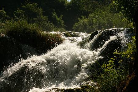 急流, 水, 清除, 野生, 流量, 自然, 河