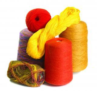 纱线, 线程, 针织, 针线活, 来编织