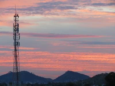景观, 在里约热内卢, 巴西, rj, 神, 自然, 天空