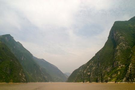 河, 峡谷, 峡谷, 岩石, 水, 景观, 山脉