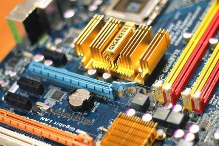 主板, 电路, 计算机, 部分, 技术