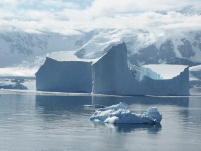 南大洋, 冰, 表格式冰山, 感冒, 南极洲