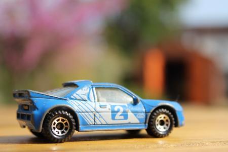 汽车, 玩具, 车轮, 儿童, 蓝色, 乐趣, 戏剧