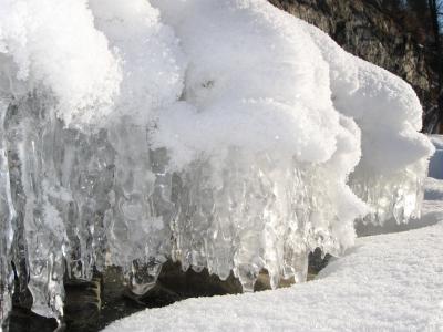 冬天, 雪, 白色, 冰, 湖, 俄罗斯