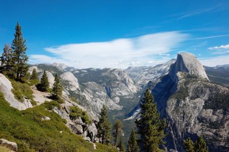 景观, 山, 山的顶峰, 自然, 户外, 岩石, 落基山