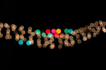 模糊, 光明, 多彩, 色彩缤纷, 照明, 灯