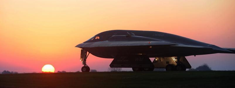 隐形轰炸机, 试飞, b2, 精神, 飞机, 射流, 飞机