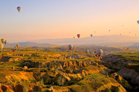 冒险, 空中, 安那托利亚, 航空, 卡帕多西亚, 桌面背景, 桌面